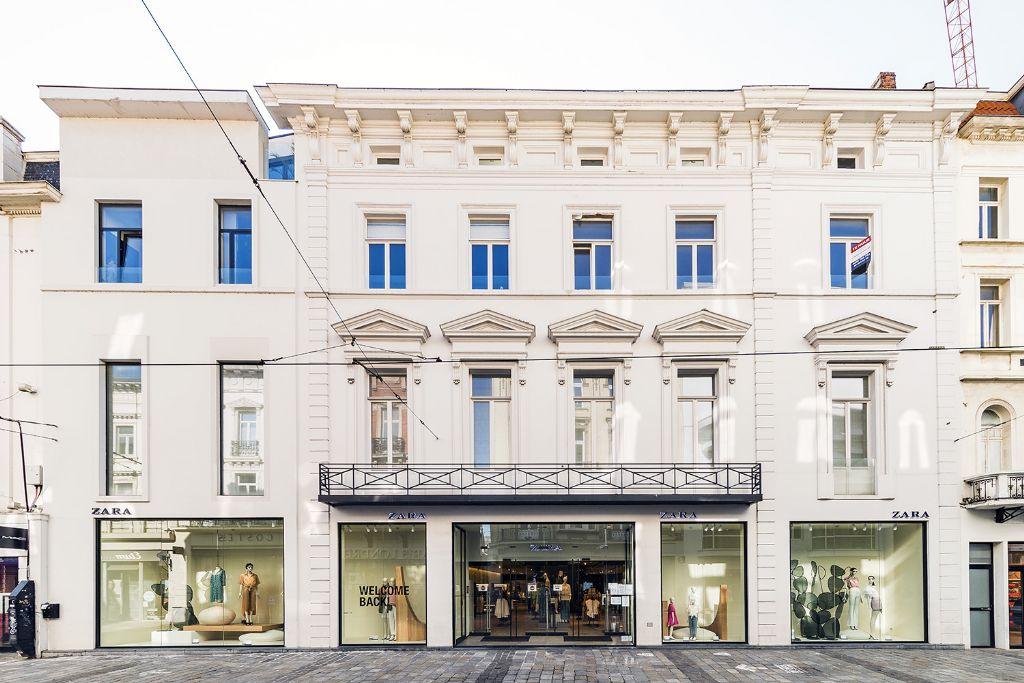 Veldstraat 31-37: wonen en winkelen onder één dak in de Gentse winkelstraat
