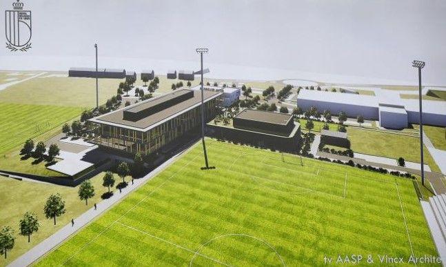 Belgian Football Centre maakt Belgisch voetbal futureproof