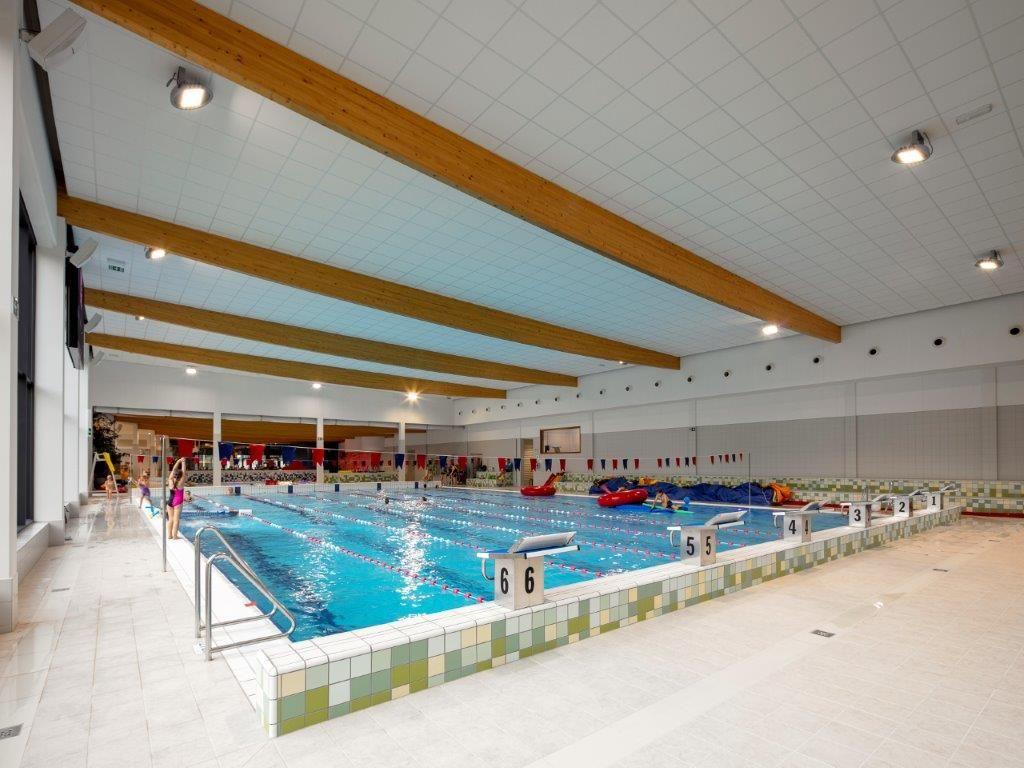 De zwemvoorzieningen in sportcentrum De Soeverein zijn van een erg hoog niveau. (Bart Gosselin)