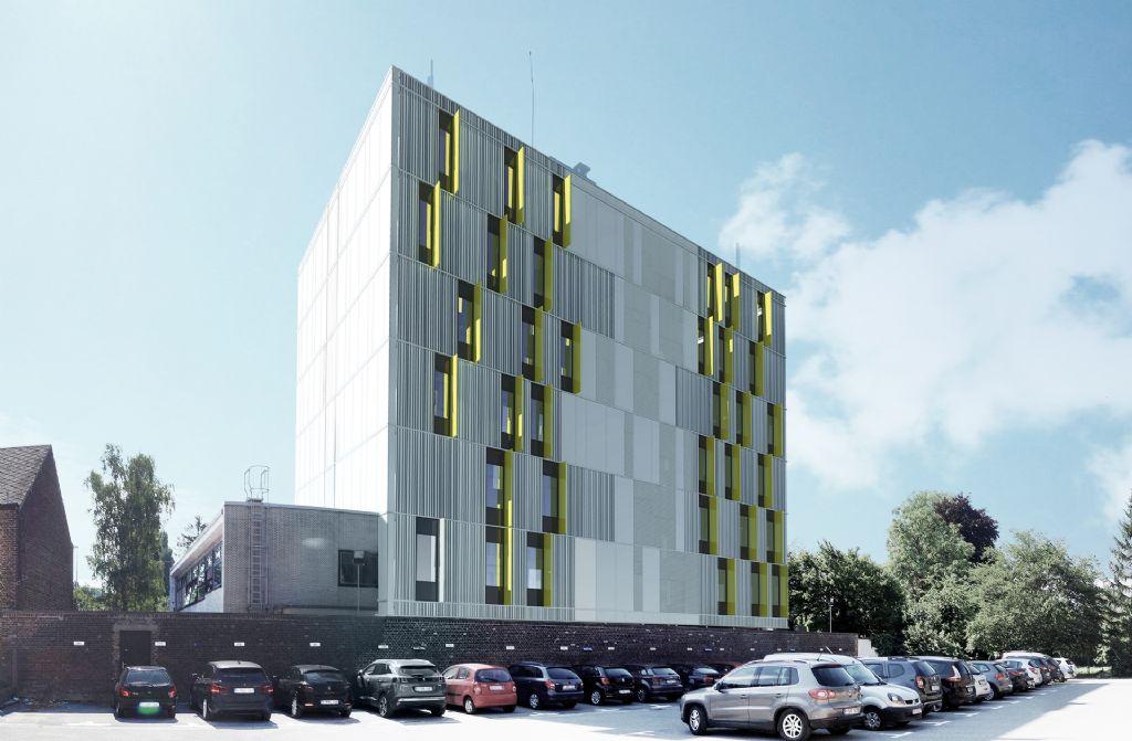 Une nouvelle façade en caissons préfabriqués pour le CRAC