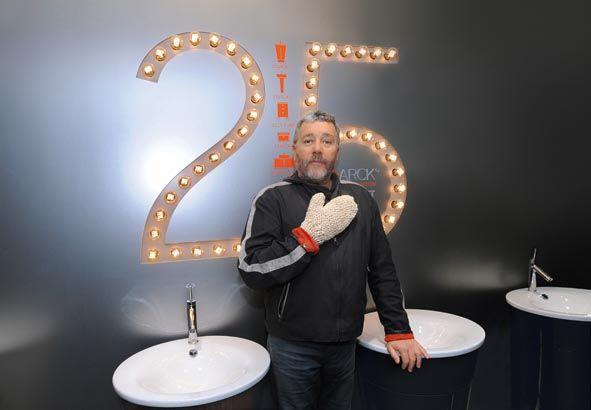 Duravit et Philippe Starck célèbrent 25 ans de collaboration à INTERIEUR 2014