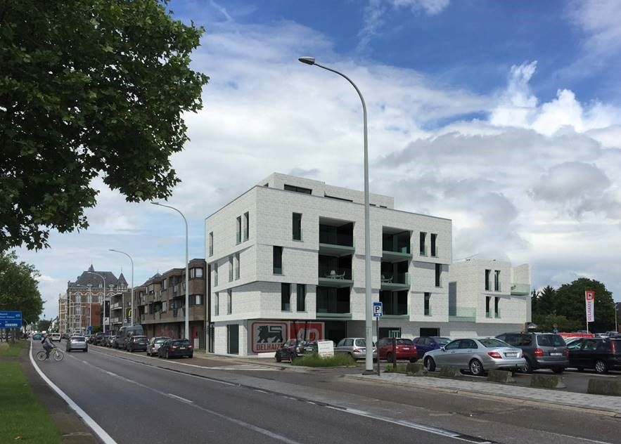 Skyline Maasmechelen hertekend door De Busschere + Wolfs architects