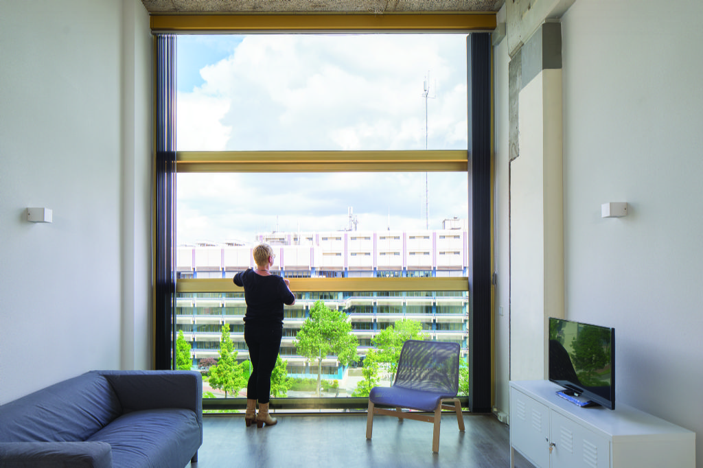 Verticaal openschuivende ramen voldoen aan hedendaagse eisen