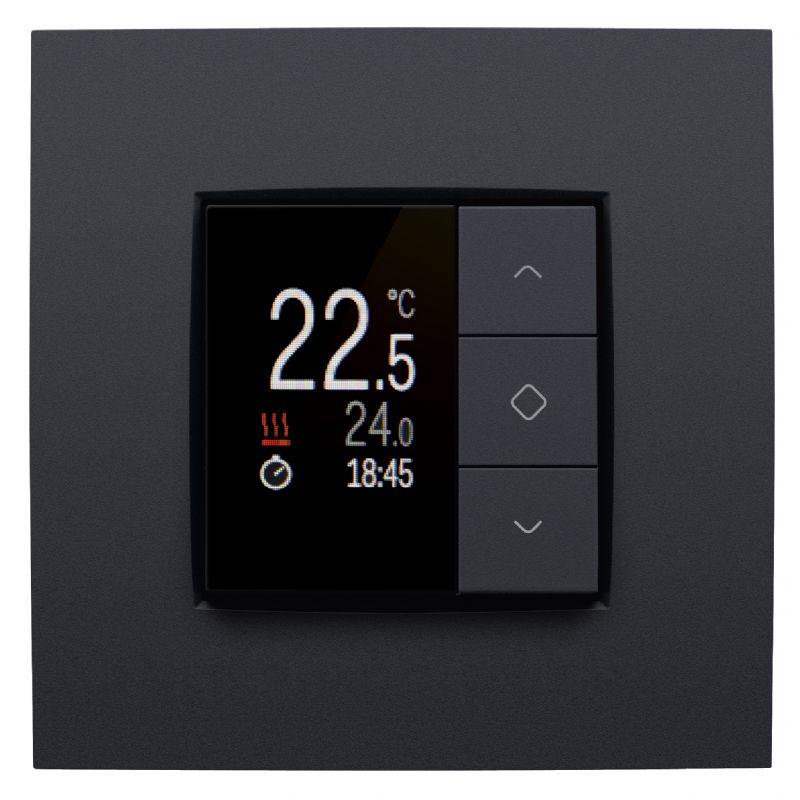 Een intuïtief besturingssysteem laat toe om gemakkelijk alle elektrische functies van het huis te beheren.