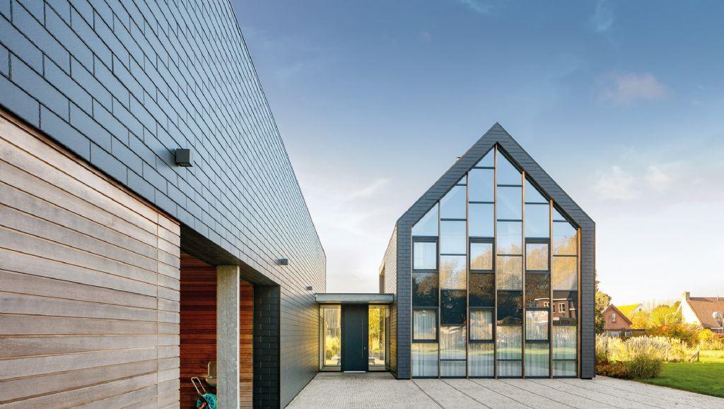 Eternit présente ses nouveaux systèmes de façade en fibres-ciment à Batibouw