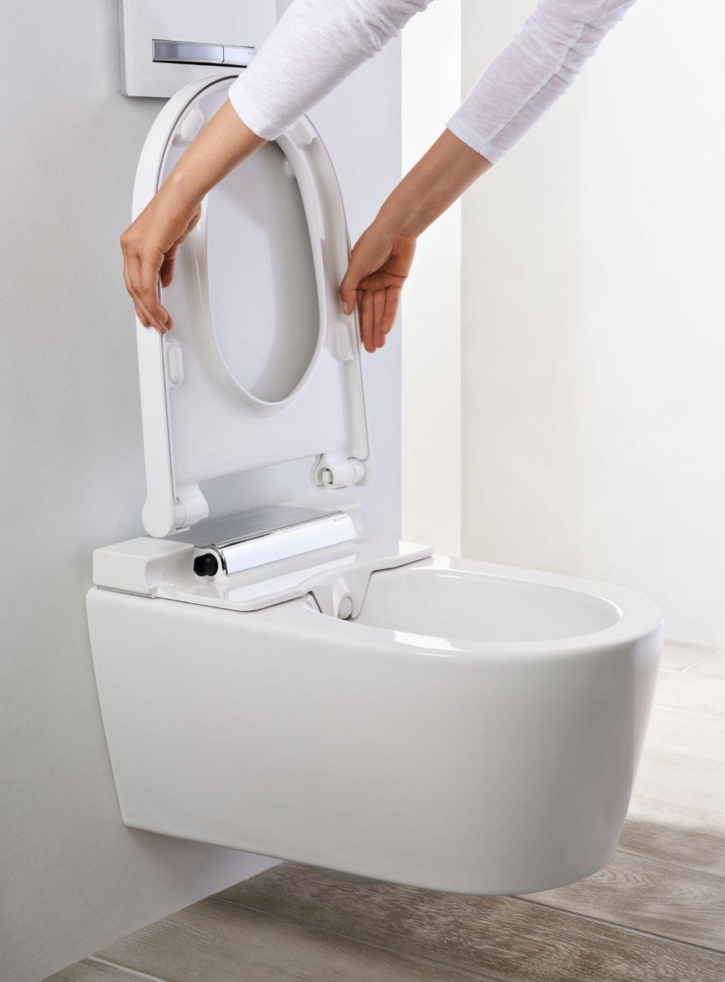Design minimaliste pour le nouveau Geberit AquaClean Sela