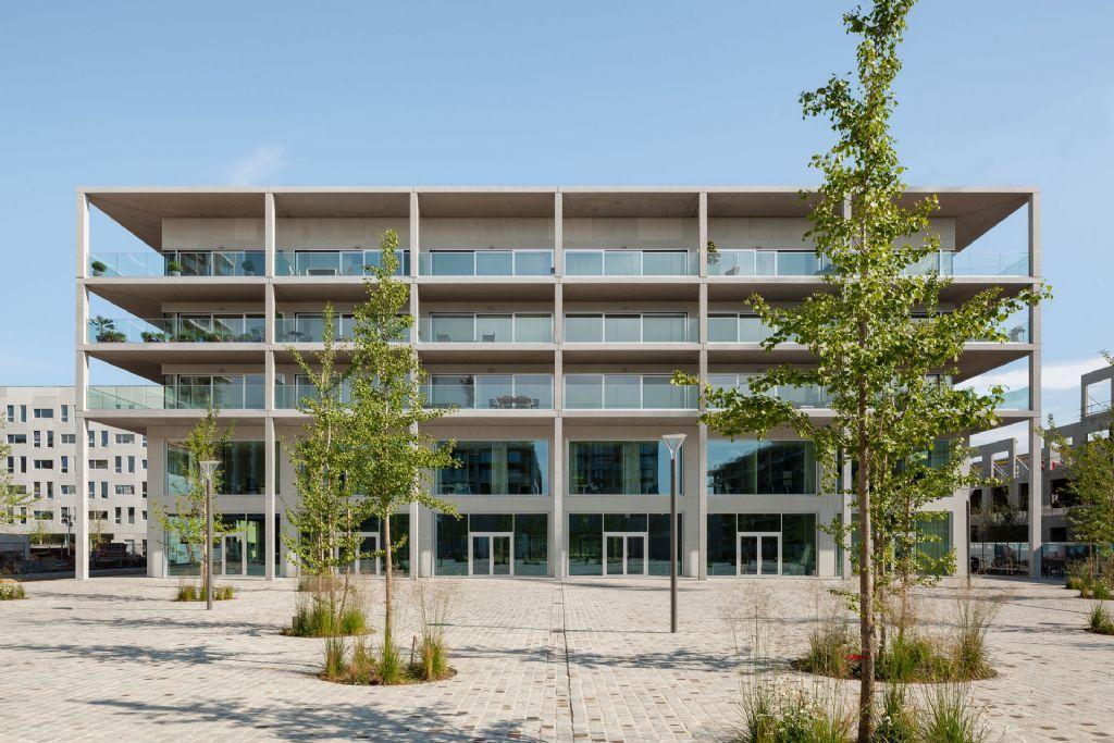 Stadspaleis van Atelier Kempe Thill voltooid aan nieuw Panamarenko-plein in Antwerpen