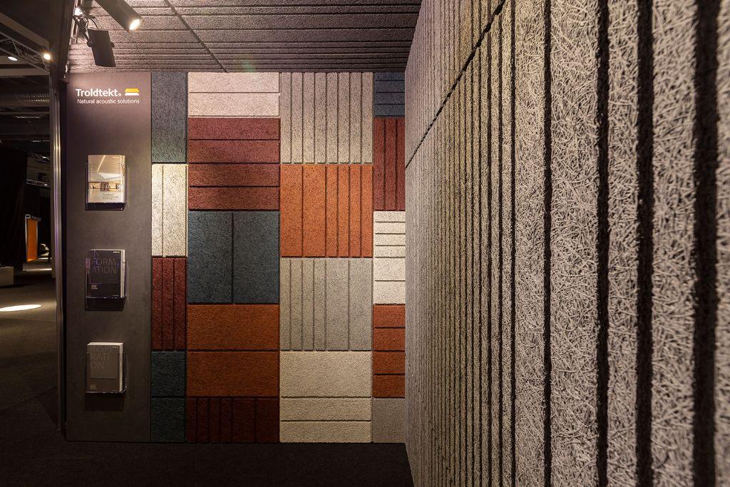 Troldtekt presenteert akoestische designoplossingen op Architect at Work Luxemburg