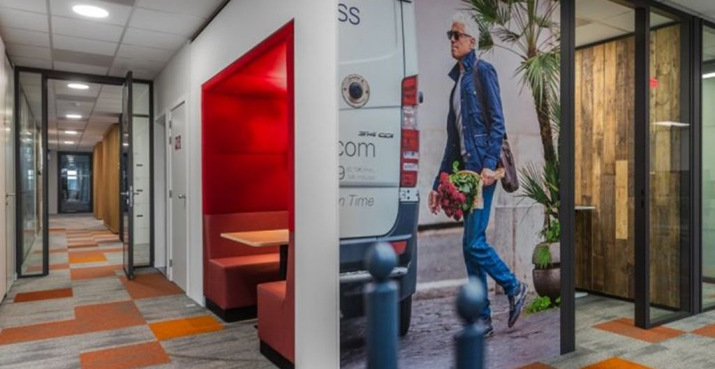 Beddeleem pakt interieur FedEx-kantoren aan