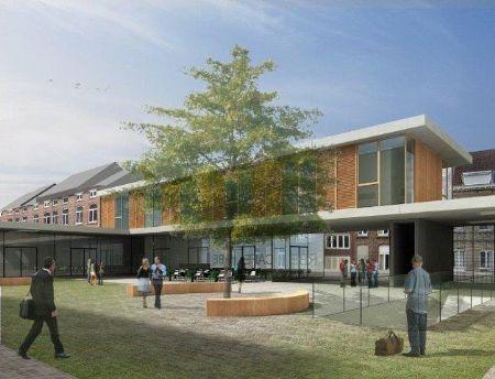 Integratie door onderwijs en architectuur in Leuvense Michottekazerne