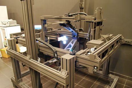Deze goniofotometer kan objecten tot 30 cm onderzoeken.