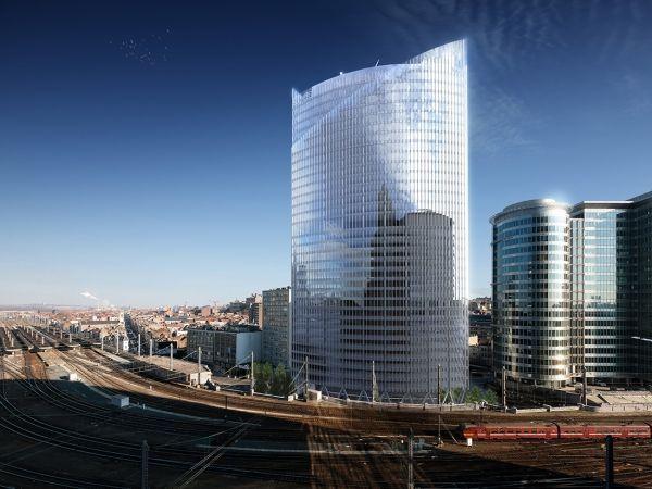 Iris Tower, le nouveau fleuron de Bruxelles Nord