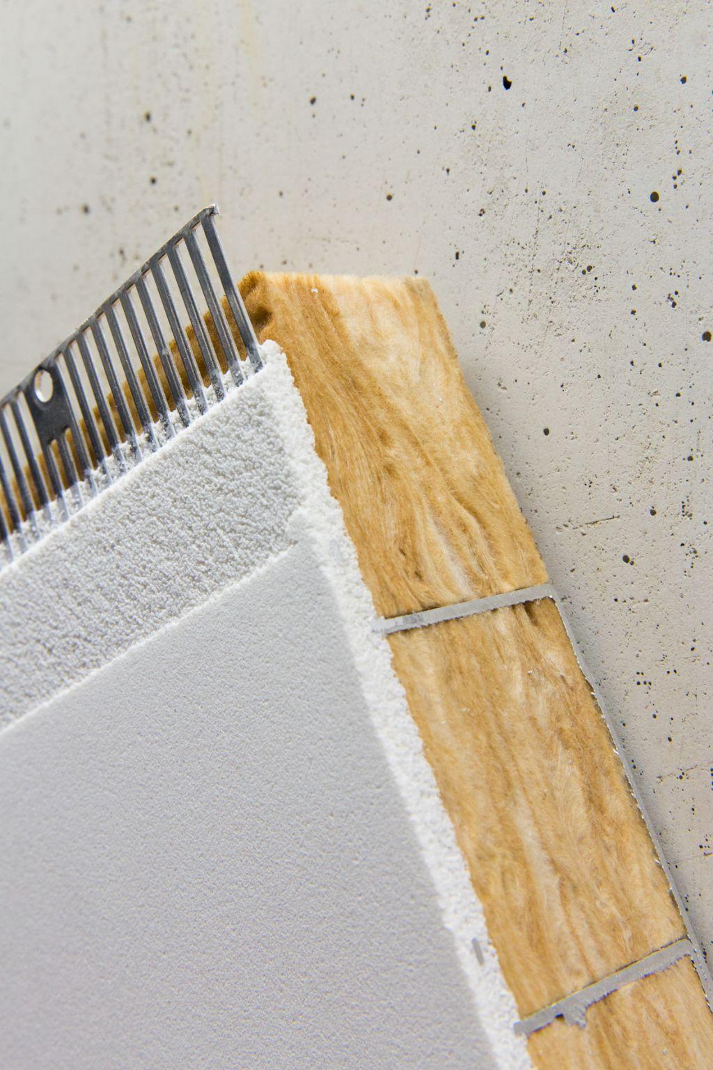 BASWA Core absorbeert het geluid zonder de overdracht van koude of warmte door de actieve bouwlaag te verhinderen.