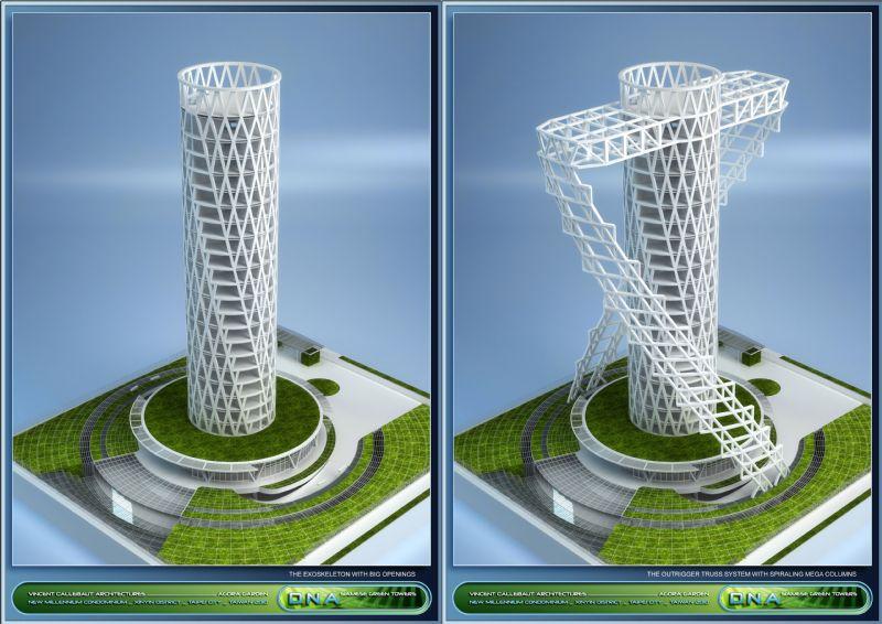 Structureel concept A.