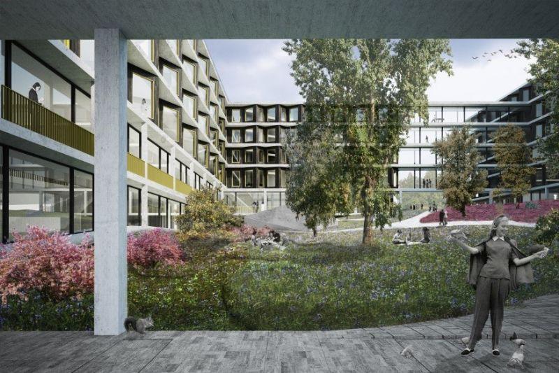 AZ Jan Portaels ism NU architectuuratelier