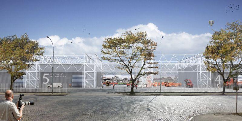 Net niet: Vertdok in Brussel (BC Architects)