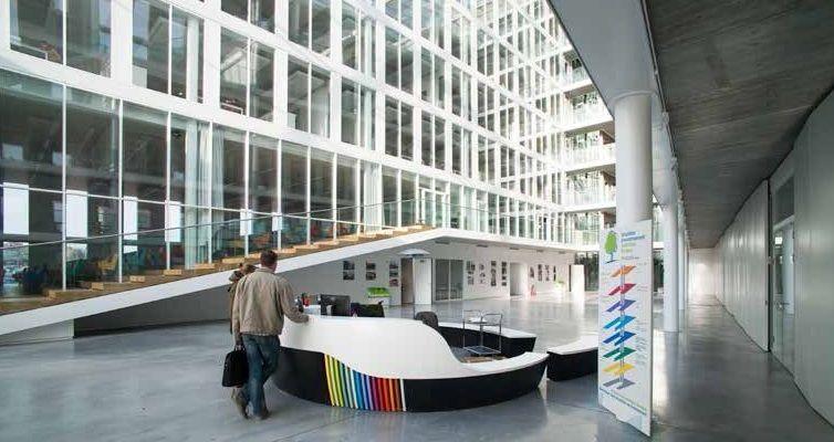 Het nieuwe BIM-kantoor: imposante eyecatcher met open structuur