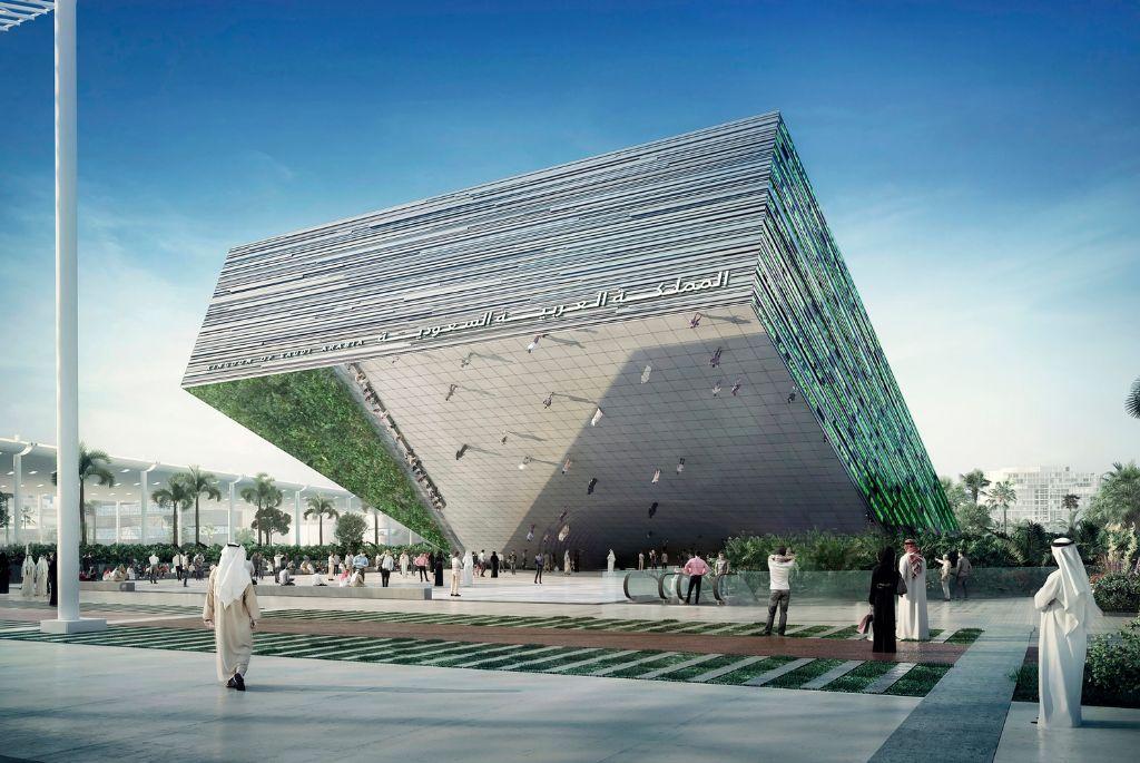 Saudi-Arabië bouwt reusachtig paviljoen voor wereldtentoonstelling