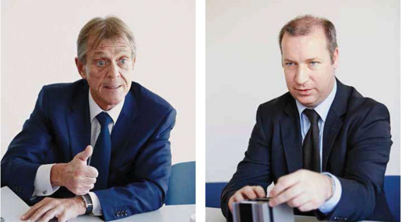 CEO Peter Blijweert en Technisch Directeur Stefaan De Kegel