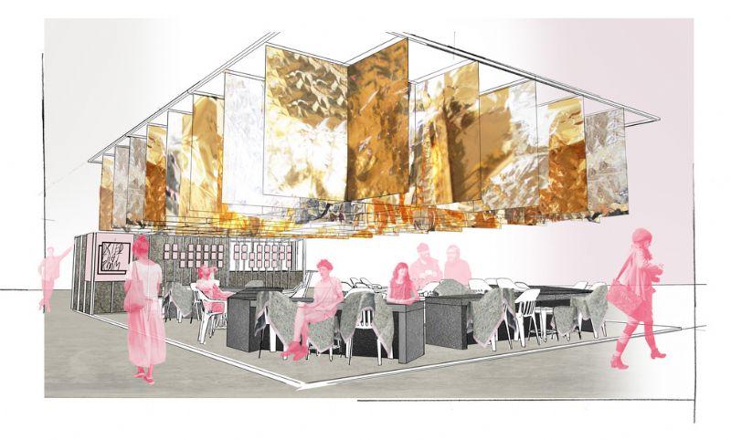 Dried Chat Room, een concept van Alberto Artesani (DWA), Frederik De Wachter (DWA),  Francesca Perani (Spectacularch) en Sandra Marchesi (Spectacularch) uit Italië.