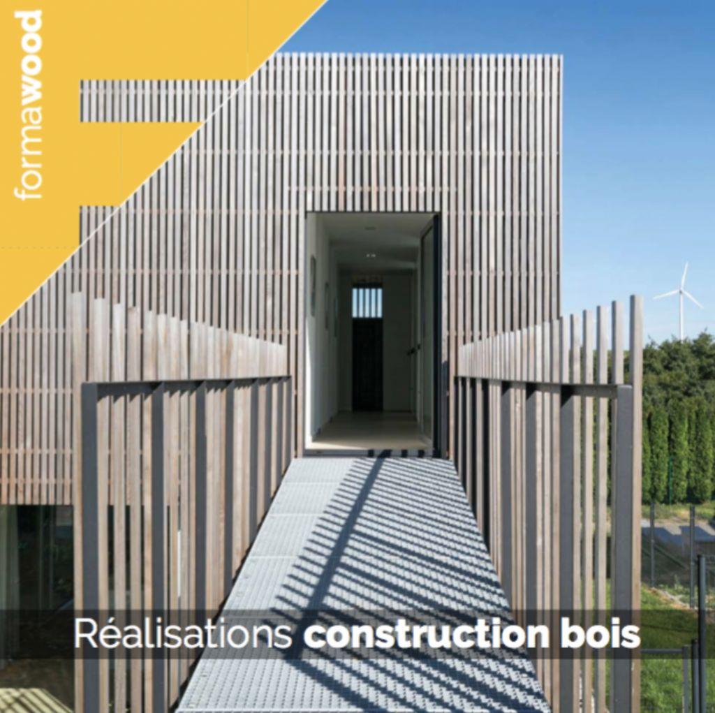 Valorisation de réalisations en construction bois : appel à projets FormaWood