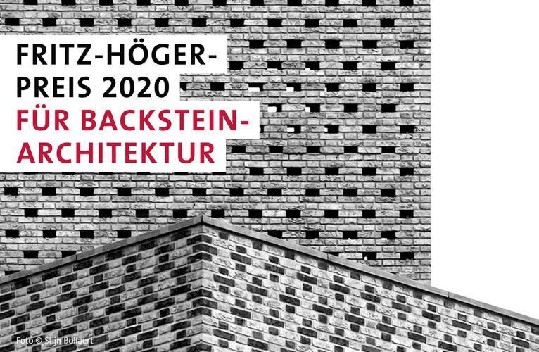 Drie Belgische projecten maken kans op Fritz-Höger Award 2020