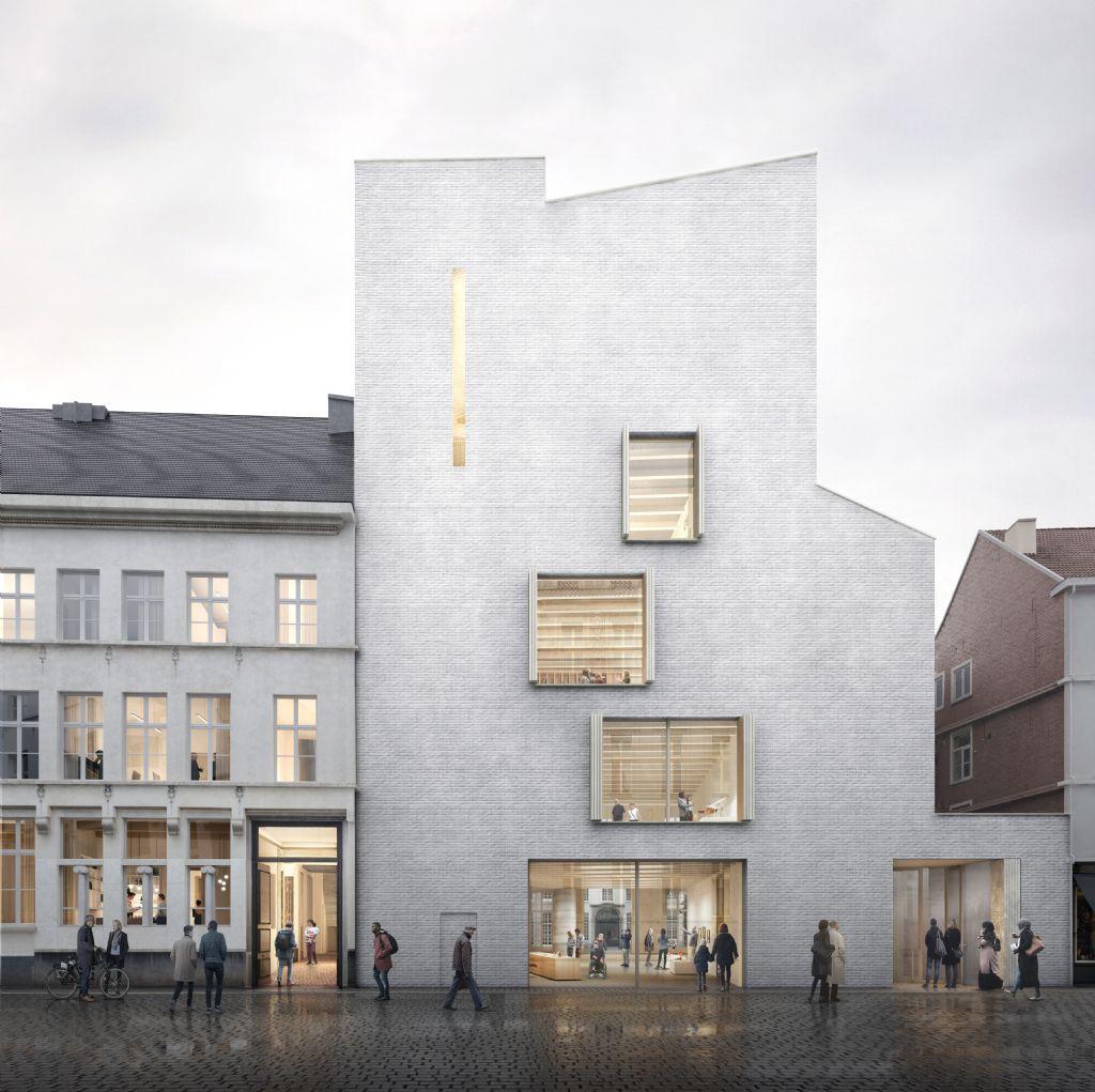 Definitieve plannen DING, nieuwe vleugel Design Museum van TRANS, Carmody Groarke en RE-ST, zijn bekend