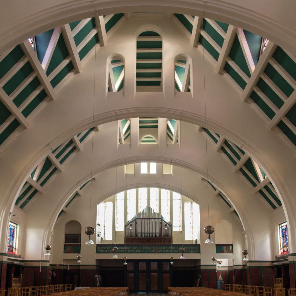 Église Saint-Aybert, Bléharies, 1926 (Henry Lacoste architecte)
