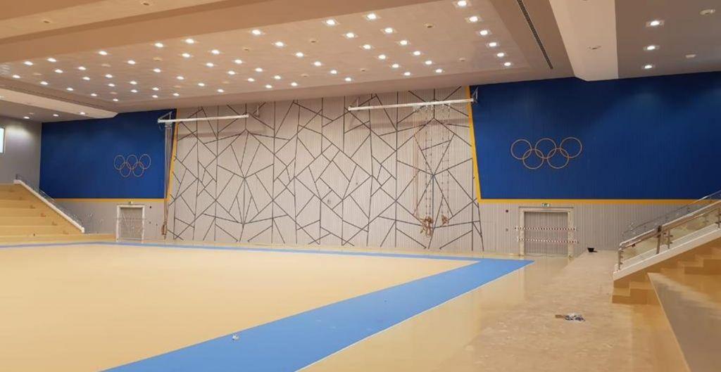 Print Acoustics levert akoestische panelen voor sportcomplex in Oman