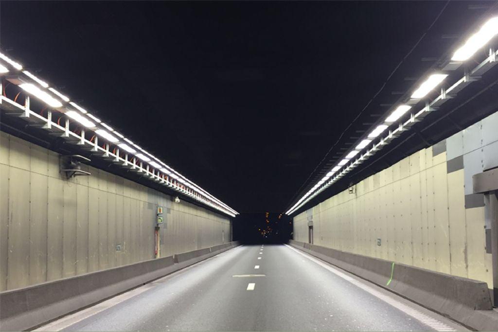 Un éclairage synonyme d'économies pour le Tunnel de Tervueren
