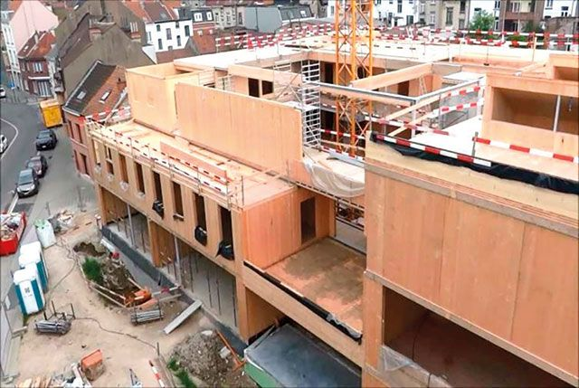 Toepassing van Cross Laminated Timber in een kleuterschool.