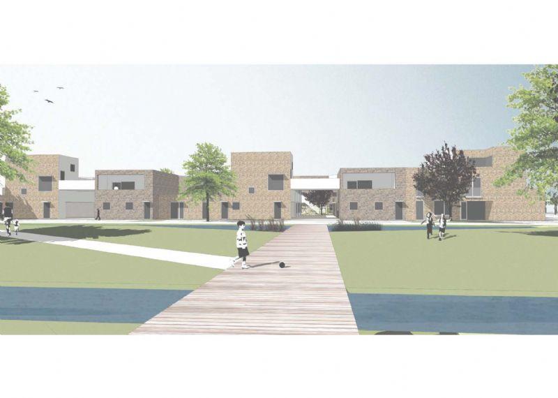 Volt Architecten ontwerpt onderdeel sociaal huisvestigingsproject Willebroek