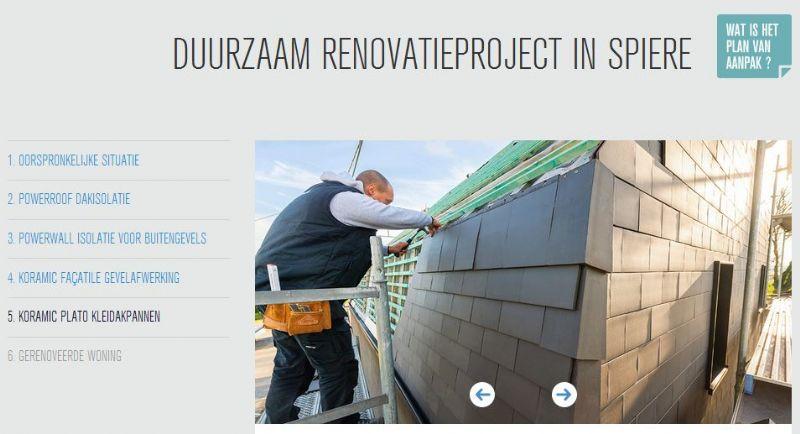 Een renovatieproject in Spiere doet dienst als voorbeeld.