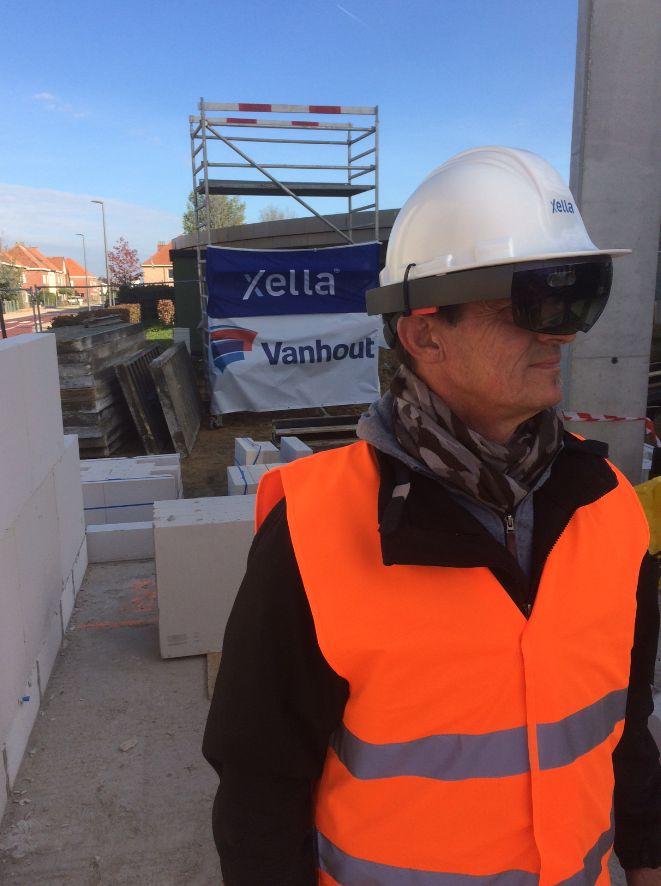 Des hologrammes sur un chantier ? Une primeur belge !