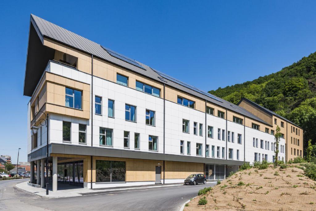 Fraaie gevelbekleding voor een aantrekkelijk en duurzaam staaltje architectuur