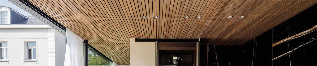 Houten akoestische plafonds: goede akoestiek en een natuurlijke uitstraling