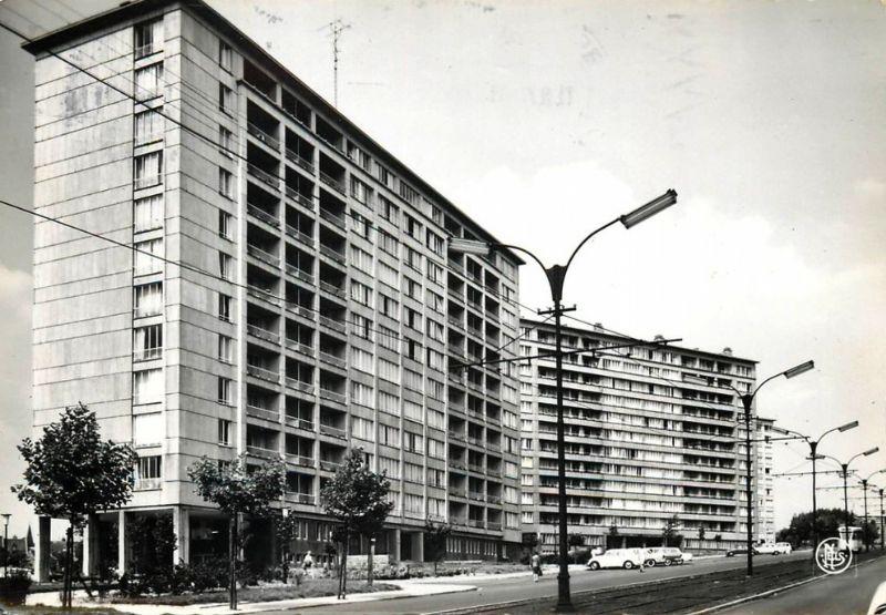 Het gebouw voorheen
