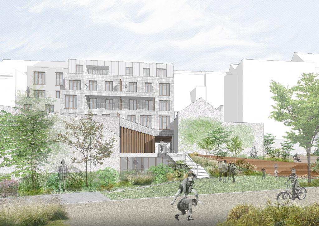 Attribution du marché de travaux pour le projet Mairesse Garden à Saint-Gilles