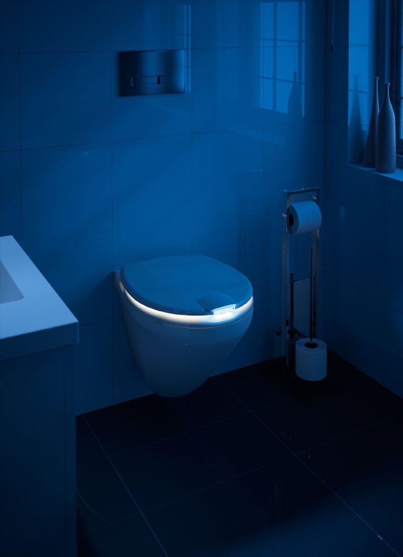 De Nighty wc 's nachts.