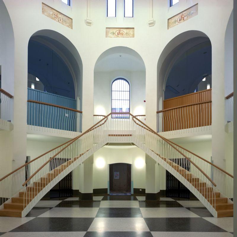 Faculteit rechten in de voormalige gevangenis
