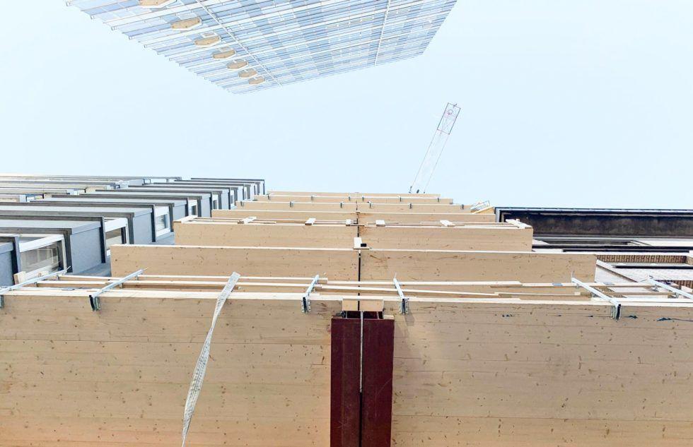 Immeuble 100% en bois : qui montera le plus haut ?