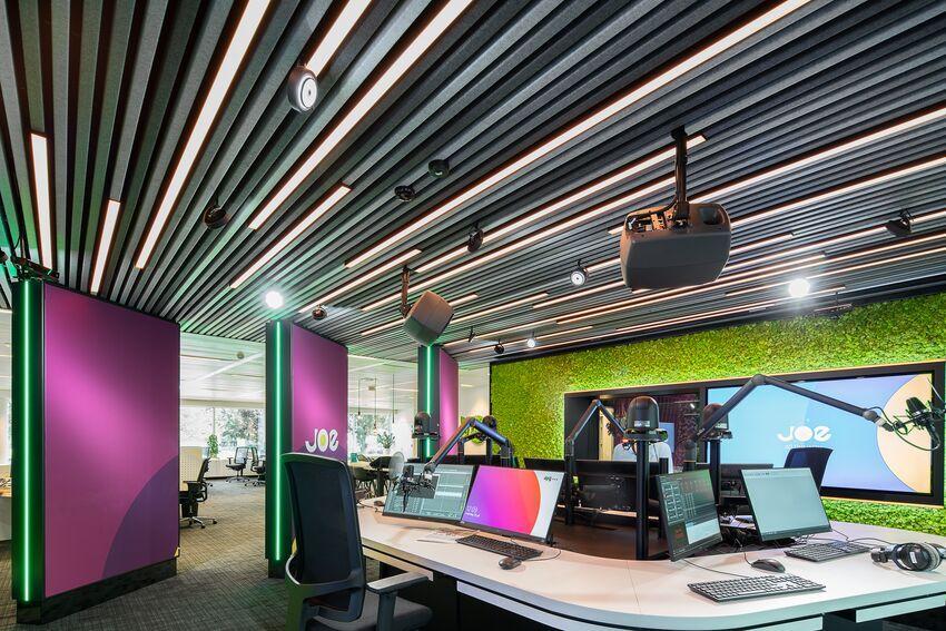 Vilten plafondsysteem HeartFelt® combineert esthetische en functionele kwaliteiten