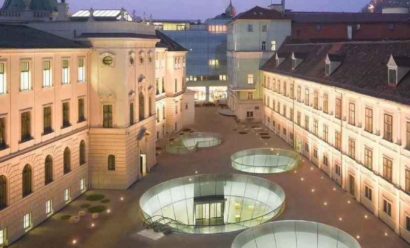 Nieto Sobejano, Joanneumsviertel, Graz