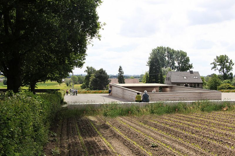 Net niet: Onthaalsite Duitse Militaire begraafplaats in Hooglede