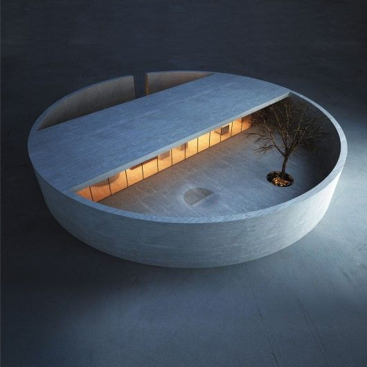 Best Future Building of the Year - Drawing Board: The Ring House; Riyadh, Saoedi-Arabië / MZ Architects