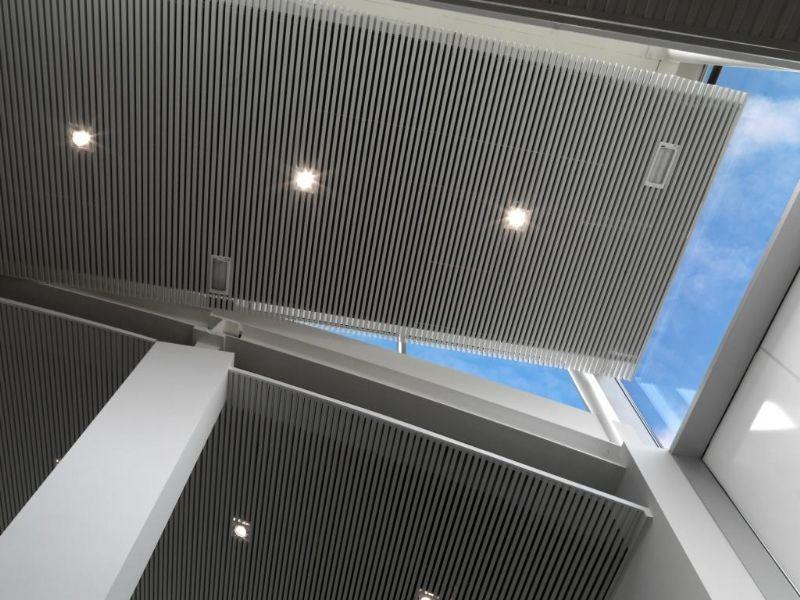 Balvast akoestisch plafond essentieel voor goede sportinfrastructuur