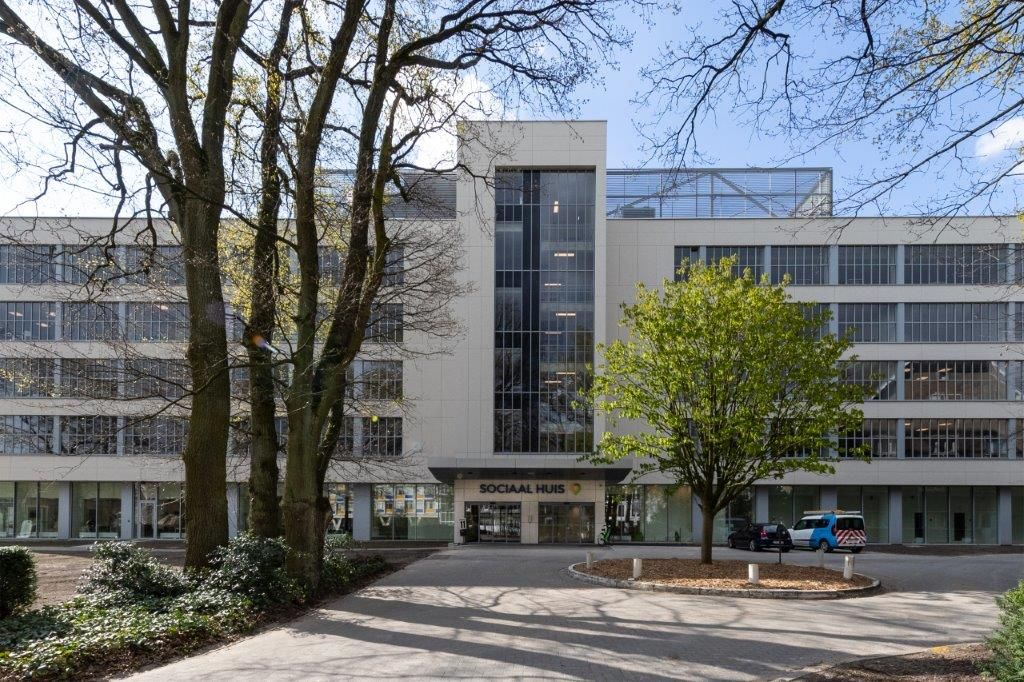 Woonzorgcentrum Heiderust onderging een intensieve verjongingskuur en gaat voortaan door het leven als Sociaal Huis Portavida. (Beeld: Eddy Vanoppen (Fotomakers) – Willemen Construct)