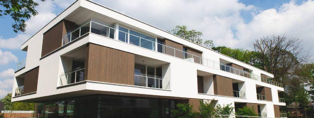 Trespa Pura NFC® geeft subtiele touch aan terrassen van seniorencomplex