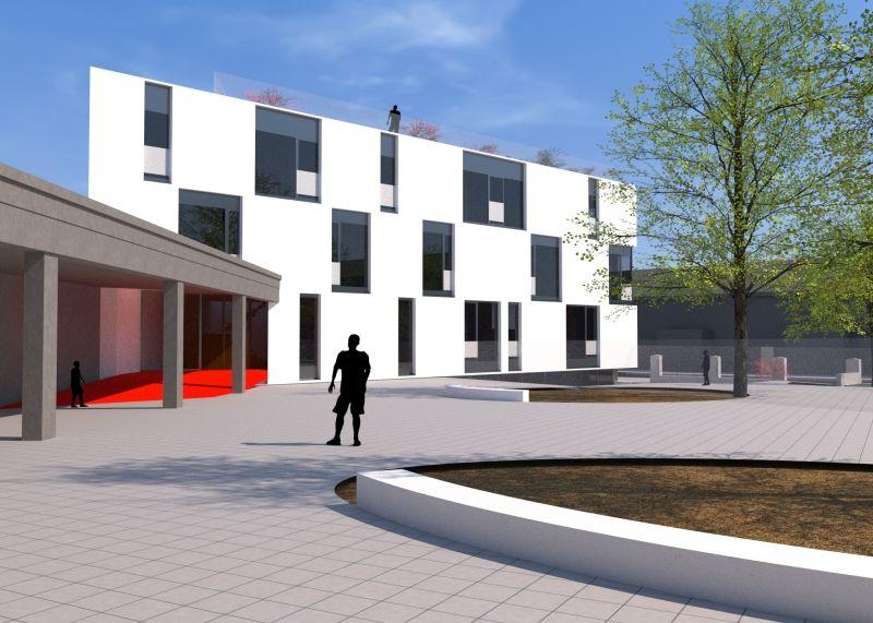 Rénovation d'une école classée comme monument  à Anderlecht