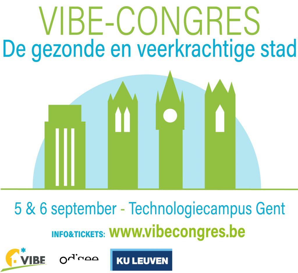 VIBE-congres gewijd aan gezonde en veerkrachtige stad